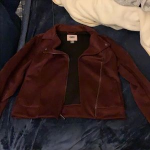 Formal jacket maroon blazer